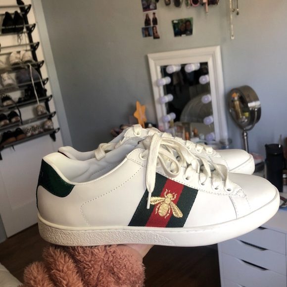 208f75ba98a Gucci Shoes - Gucci Ace embroidered sneaker!